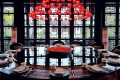 A private room at Jin Sha at the Four Seasons hotel in Hangzhou. The restaurant received a three-diamond rating – the highest possible – in the 2018 Black Pearl Restaurant Guide, a guide to the best restaurants in China published by Meituan-Dianping. Photos: Cedric Tan