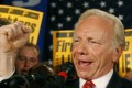 Former US senator Joe Lieberman has claimed a lobbyist's exemption from having to register as a foreign agent as a result of his work for ZTE. Photo: Reuters