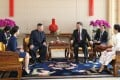 Chinese President Xi Jinping met North Korean leader Kim Jong-un in Beijing on Tuesday. Photo: Xinhua