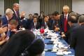 China's vice-premier Liu He met the US trade delegation in Beijing this week. Photo: Handout