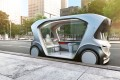 "Bosch's driverless electric shuttle is one of the first in the new ""shuttlemobility"" class of vehicles."