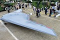 China's new stealth drone, the Sky Hawk, went on display to the public at Airshow China in November. Photo: China Aerospace Science & Industry Corp
