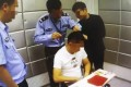 All of the accused tested positive for marijuana, the police said. Photo: 163.com