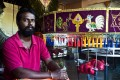 Perumal Ramu Govindasamy is a kavadi maker in Kuala Lumpur, Malaysia. Photo: Sharon Lam