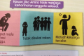 The infographic in a Malaysian health textbook which shames girls for having sex. Photo: Twitter