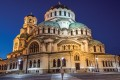The Alexander Nevsky Cathedral, in Sofia, Bulgaria. Picture: Tim Pile