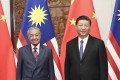 Chinese President Xi Jinping and Malaysian Prime Minister Mahathir Mohamad forged strong ties during a Beijing summit last year that remain today, according to Malaysia's trade minister Darell Leiking. Photo: Xinhua