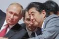 Russian President Vladimir Putin and Japanese Prime Minister Shinzo Abe in September. Photo: Reuters