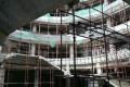 Photos show only a concrete frame has been built. Photo: Handout