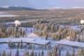"""Researchers from Sweden's defence ministry have warned a Chinese """"built and operated"""" satellite communication station in Kiruna may be used by China's military. Photo: ESA"""