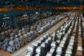 The drop in export orders was more severe than expected. Photo: Reuters