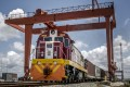 Beijing's investment in Kenya's railways under its belt and road global infrastructure plan aims to revive and extend trading routes connecting China with Central Asia, the Middle East, Africa and Europe. Photo: Bloomberg