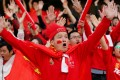 China fans at the Asian Cup. Photo: Reuters