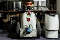 JackRabbot 1, a Segway platform mobile robot, in Stanford University's AI Lab. Picture: Christie Hemm Klok