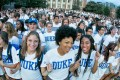 A professor at Duke University in the United States stepped down after a social media storm over Chinese students not speaking English on campus. Photo: Duke University