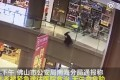 A young girl is being treated in hospital after being thrown from a third-floor balcony at a shopping centre in southern China. Photo: Weibo