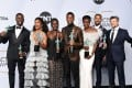 The 'Black Panther' cast at the 25th Annual Screen ActorsGuild Awards. Photo: AFP