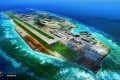 A maritime rescue centre has been added to the facilities on the artificial island of Fiery Cross Reef, according to China's Ministry of Transport. Photo: People's Daily