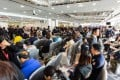 Potential homebuyers queue up for 228 flats on offer at the Mayfair By The Sea 8 from Sino Land on January 23, 2019. Photo: SCMP Handout