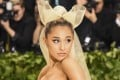 Ariana Grande's attempt to ink an ode to hit single 7 Rings has backfired after social media informed her the characters on her palm translate to shichirin – a small charcoal grill. Photo: TSN