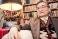 Louis Cha at his home in Hong Kong in 1994. Picture: SCMP