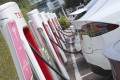 There were more than 11,000 electric cars in Hong Kong by the end of last year. Photo: K.Y. Cheng