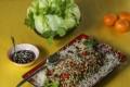 Roast duck lettuce wraps. Photo: Xiaomei Chen