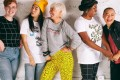 Models from Wildfang, a female-founded, women-run business that donates to charity and encourages debate on various issues.