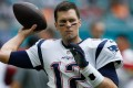 Tom Brady has a lot of haters, which he replies with love. Photo: AFP