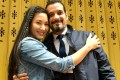 A couple for more than two years, Marsha Yuan and Mehdi Elajimi will be married in Hong Kong this month. Photo: Kylie Knott