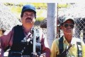 Joaquin 'El Chapo' Guzman, left, poses with an unidentified man in an undated photo: File photo: United States Attorney's Office for the Eastern District of New York