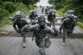 US soldiers at Camp Stanley in Uijeongbu, South Korea. Photo: Reuters
