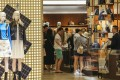 Chinese tourists at a luxury goods store in Hong Kong. While it is too early for local designers to be considered as rivals to established global fashion houses, there are more opportunities for Chinese brands in the current market, says designer Wilson Li. Photo: Dickson Lee