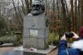 Karl Marx's tomb in London. Photo: Reuters