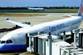 A China Airlines (CAL) passenger jet is seen at the Taoyuan International Airport, Taiwan, in 2013. Photo: EPA