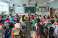 Tencent Holdings-backed online education firm Yuanfudao has developed an artificial intelligence-powered app that can check children's arithmetic problems through a simple snapshot. Photo: Alamy