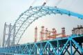 The Hutong Railway Yangtze River Bridge is set to cost more than US$5.3 billion. Photo: AFP