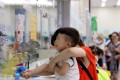 A boy has his blood sample collected at a children's hospital in Shanghai, July 26, 2018. Photo: Xinhua