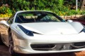 The man had been driving a Ferrari 458 Italia bought by a local company in 2012. Photo: Alamy