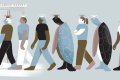 Haigui is the Chinese term to describe people who return to China having studied abroad. It sounds like the Chinese word for sea turtle, but is also used to represent the fact that these returnees often travel great distances to come home, just like migratory sea turtles. Illustration: Kaliz Lee