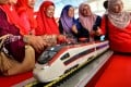Malaysia's government has equivocated over the ECRL, releasing contradicting statements on the project's status. Photo: Xinhua
