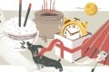 Casual acts such as how you place your chopsticks in rice and handling an umbrella indoors could have implications, if some customs are to believed. Art: Perry Tse