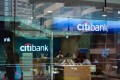 Citibank mall branch in Hong Kong is pictured. Photo: Alamy