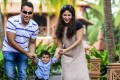 Ekta Tejwani is the founder of Mumz. Here she is with her husband Ajay and son Jai.