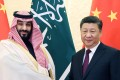 Chinese President Xi Jinping meets Saudi Arabian Crown Prince Mohammed bin Salman at the Great Hall of the People in Beijing on Friday. Photo: Xinhua