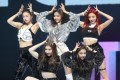 K-pop rookie girl band ITZY's first single 'Dalla Dalla' tops the 'M COUNTDOWN' chart. Photo: Yonhap