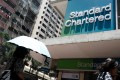 A Standard Chartered bank branch in Hong Kong on Tuesday, July 31, 2018. Photo: Bloomberg