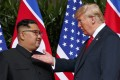 Donald Trump is using far more carrots than sticks to persuade Kim Jong-un to dismantle his nuclear arsenal. Photo: AP