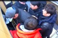 South Korean thief, surnamed Jeon, arrested by police in Daegu. Photo: Handout