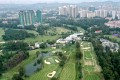 Aerial drone view of the Hong Kong Golf Club in Fanling. Photo: Roy Issa